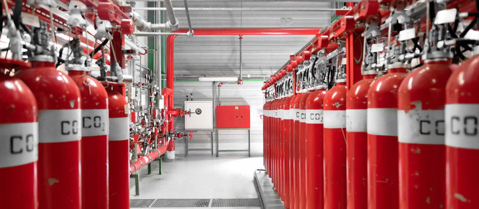 Manutenzione impianti di spegnimento